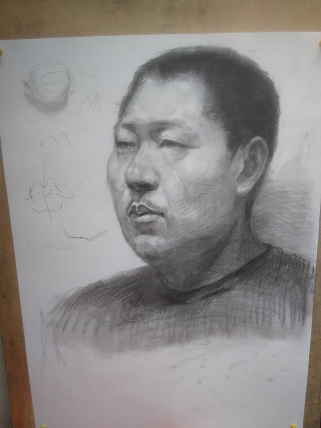 重庆一大学现史上最贵素描画价值6800万 将被中国美术馆永久收藏