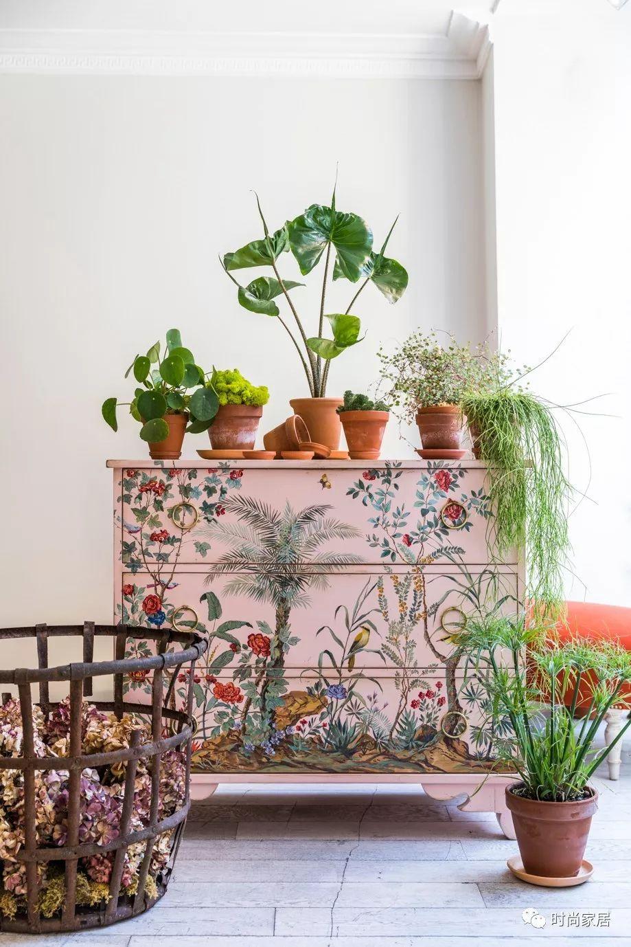 自然家具单体手绘