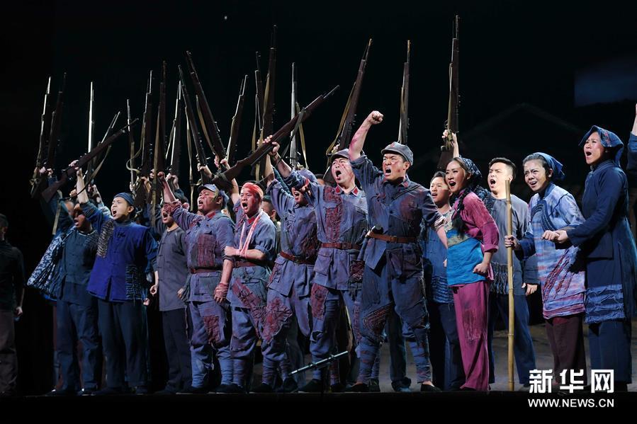 全国优秀民族歌剧展演周在福建开幕
