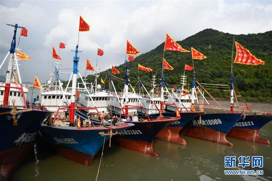 东海结束4个半月伏季休渔 全面开渔