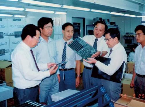 早年工作照(1989年)。来源:被访者供图