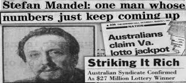 他自创公式买彩票中14次大奖狂揽2亿,美澳两国为他修改法律!