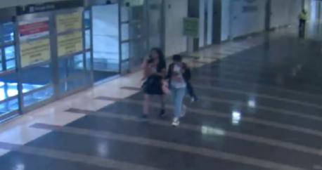 被绑的中国女孩马金晶和这名女性嫌疑人曾一起去过机场的行李提取处