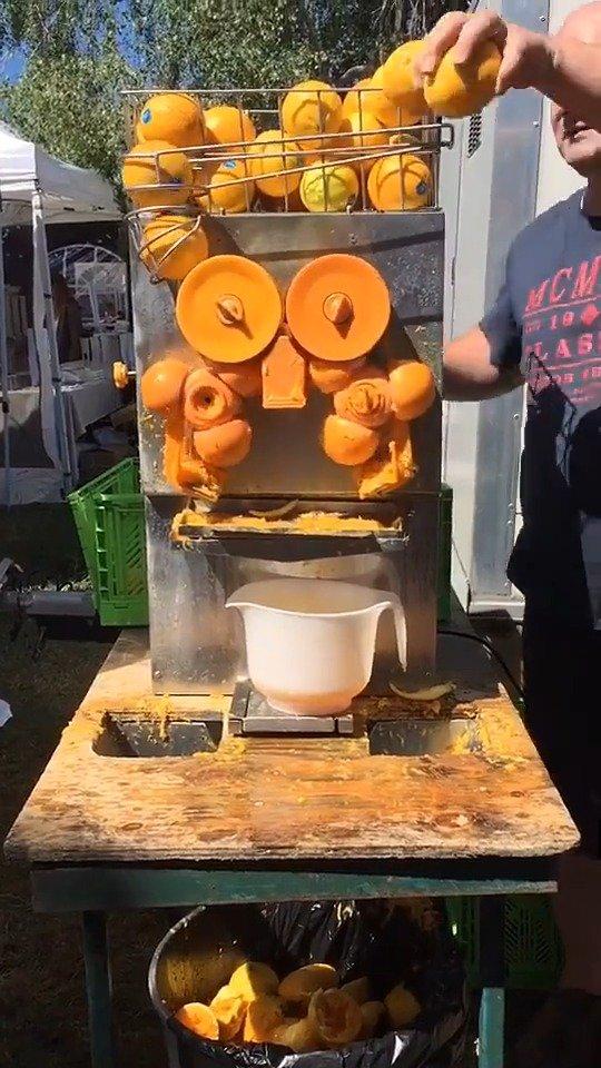 传统新西兰榨汁机