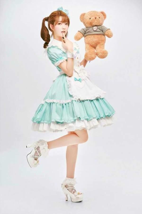 韩国第一美少女yurisa萝莉装美照 俏皮可爱,仙气爆表