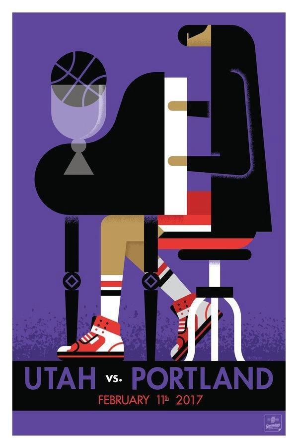 开拓者引领NBA海报文化CBA球队能借鉴吗?