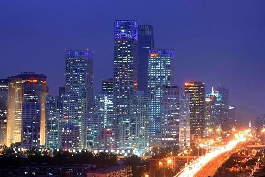 ▲北京商务区。