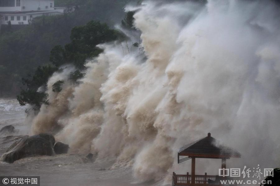 """台风""""玛莉亚""""到底有多强(组图)"""