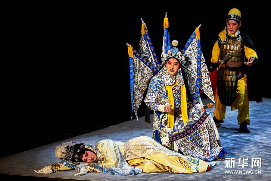 京剧《王子复仇记》拉开2018年丹麦莎士比亚艺术节序幕