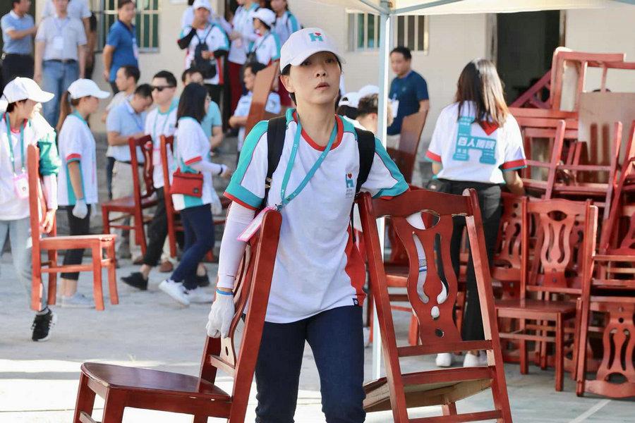 百人援陕公益行动进行时 明星志愿者不忘初心_苏州义工网