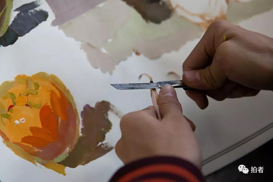 备战艺考   那些与颜料和理想做伴的日子
