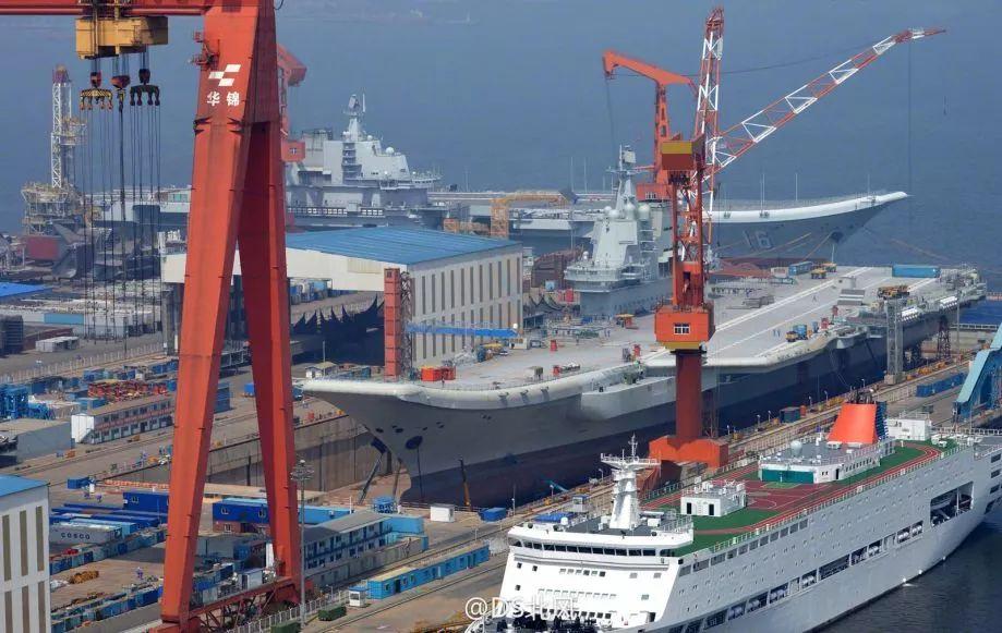 外媒:中国辽宁舰返回大连或换装新雷达及电子设备