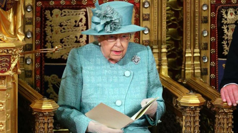 英国女王伊丽莎白二世(图片来源:天空新闻网)