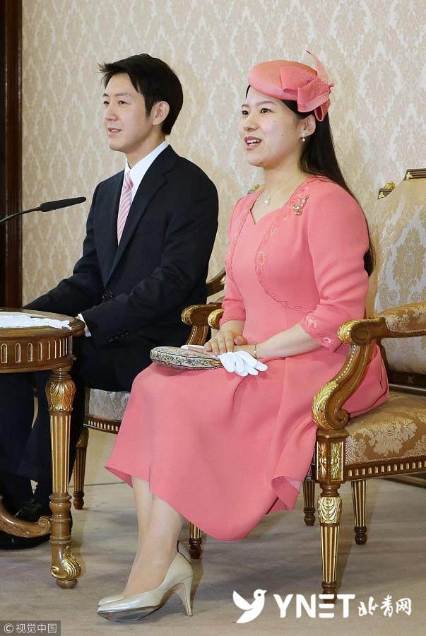 日本少夫如�_日本绚子公主宣布订婚 未婚夫为邮船公司职员