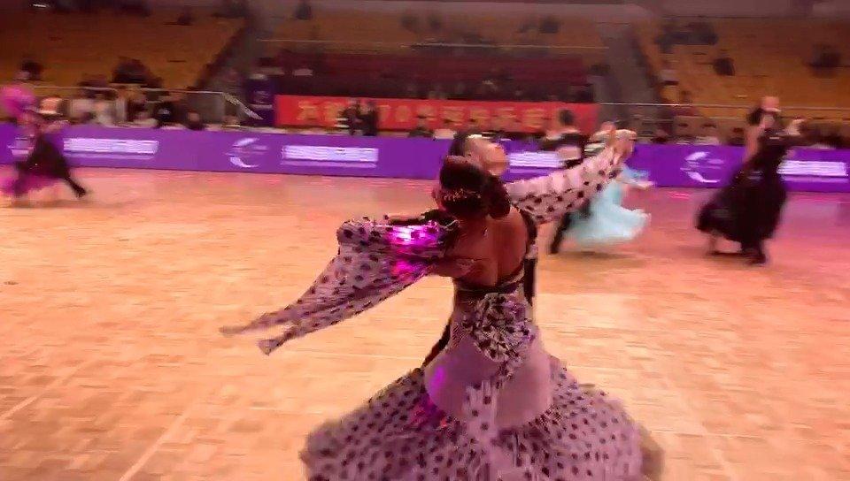 精品维也纳华尔兹 体育舞蹈系列站·北京站  舞者万安达&宗奕