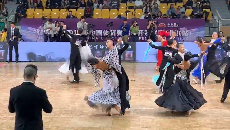 精品狐步舞 体育舞蹈系列站--北京站  舞者万安达&宗奕