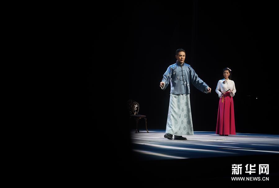 原创现代昆剧《梅兰芳·当年梅郎》在南京上演