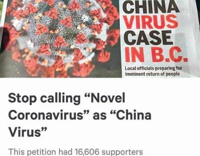 图为华侨华人在加拿大《省报》发起网上请愿,签名人数超过一万六千。(王典奇供图)