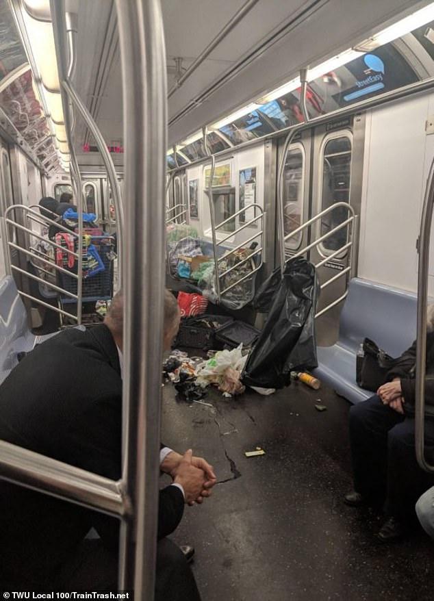 谁说美国人素质高?纽约地铁竟垃圾成堆,四处是粪便还有医疗废物