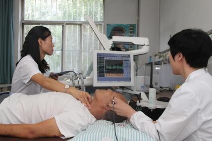 广饶县中医院引入东营市 首台头颈血管超声一体机