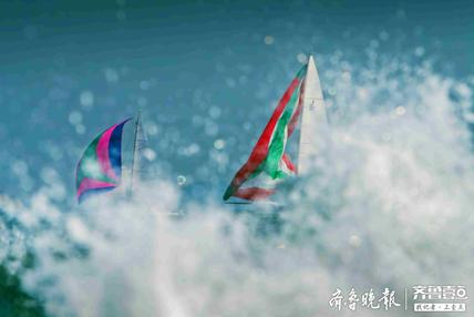 国际帆船周海洋节摄影作品评选,《利剑出鞘》获特等奖
