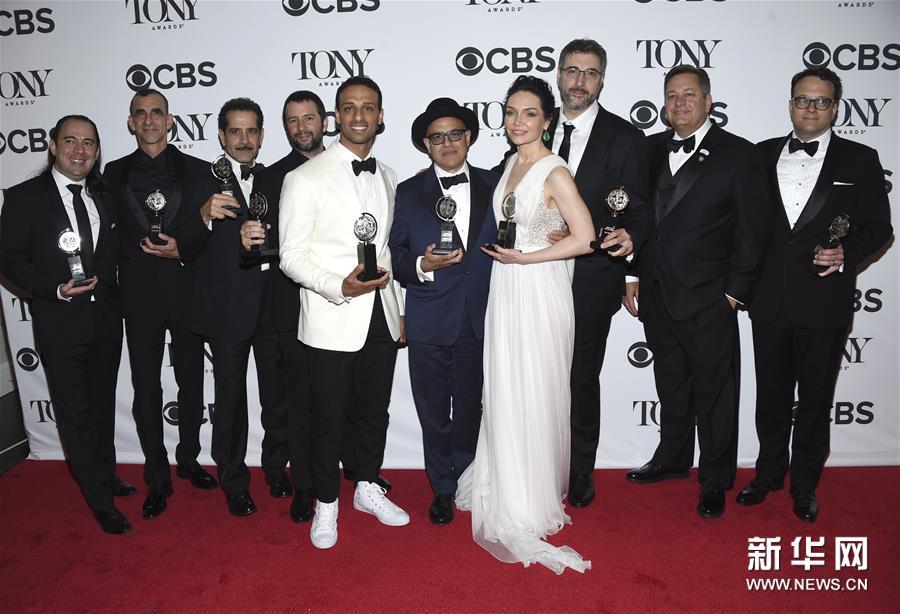 第72届托尼奖揭晓 音乐剧《乐队造访》获10项大奖