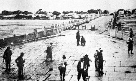 """被称""""马可波罗桥"""",乾隆曾为其赋诗!81年前的一声枪响,往昔"""