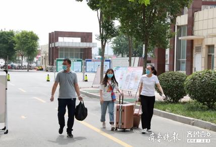 欢迎回家!菏泽医专迎来第一批返校学生