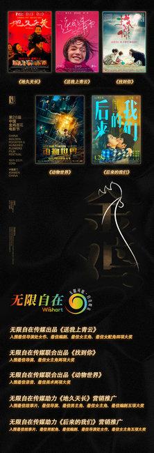 无限自在传媒参与出品、营销电影入围第32届中国电影金鸡奖18项大奖!