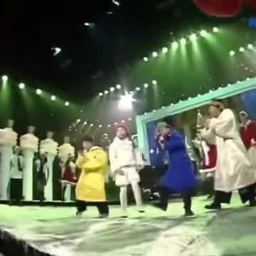 权志龙为姐夫应援