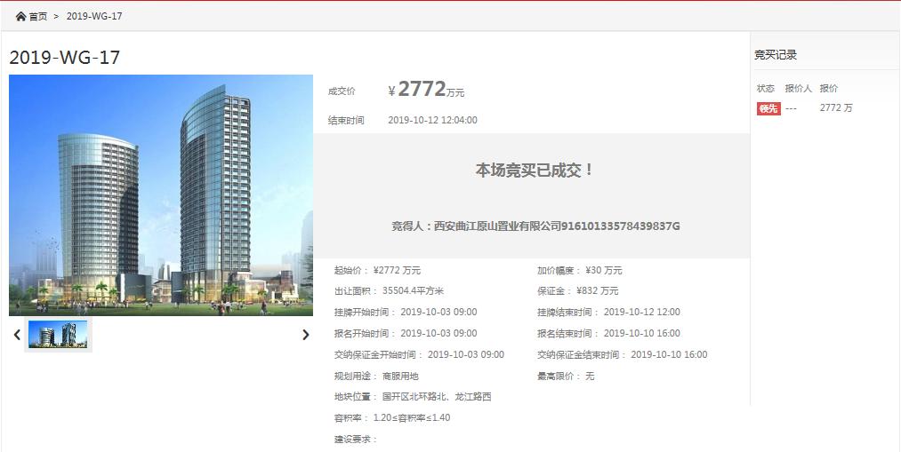 土拍|金辉底价竞得太仓国开区17号地 楼面价558元/平