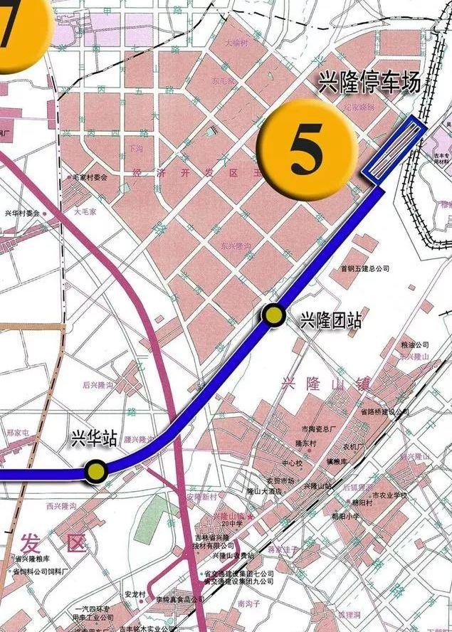 长春地铁2号线西延线工程开工 还有地铁5 6 7号线的新消息图片