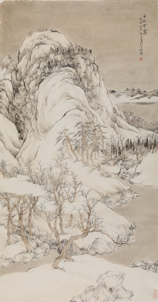 """关于山水画教学的思考:不仅是""""技"""",更该廓清文化身份"""