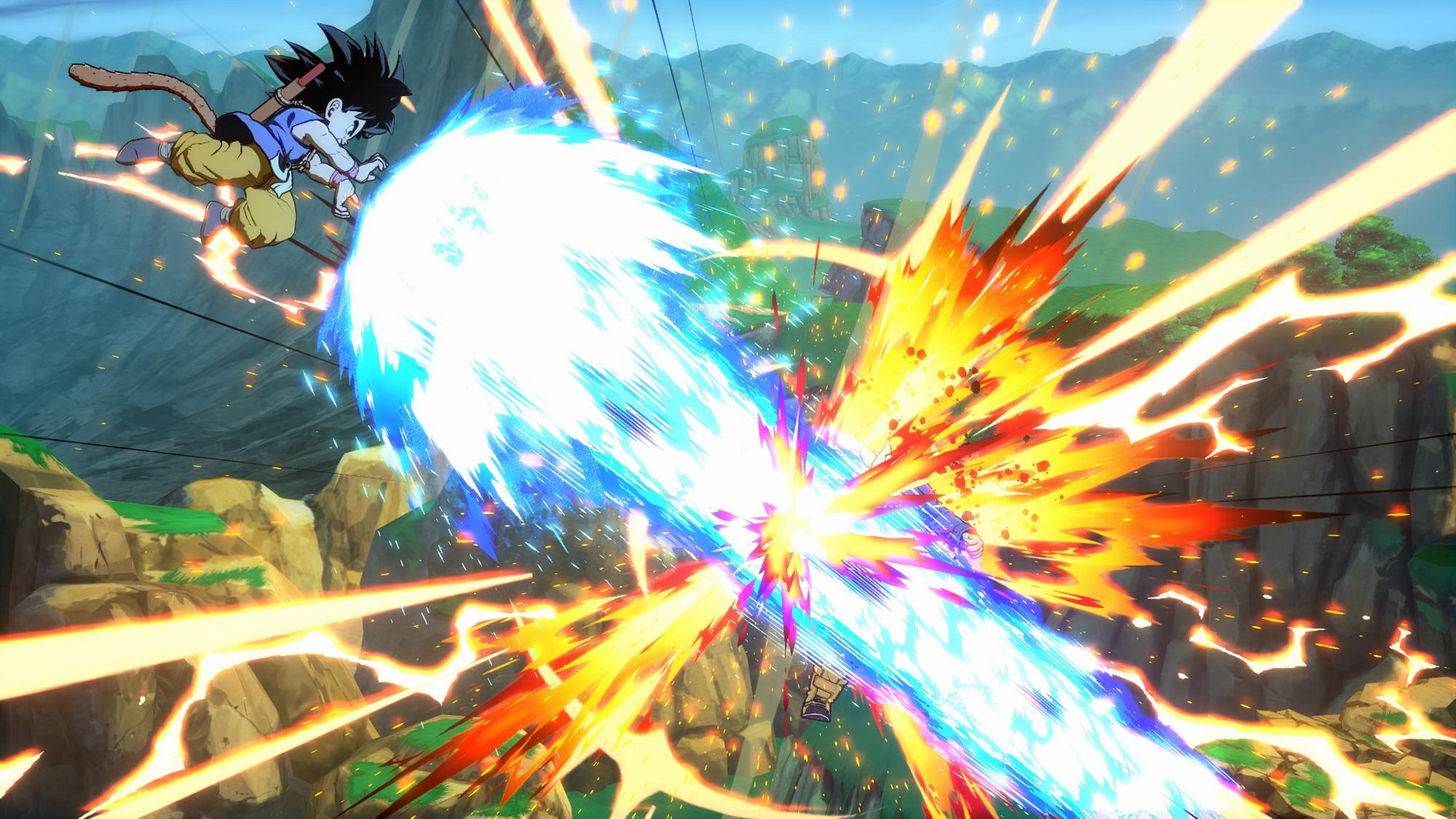 《龙珠战士Z》新DLC截图欣赏 格斗技能效果十分华