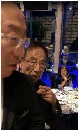 乱港头目去吃饭,市民上前质问:你还安心吃得下去!?