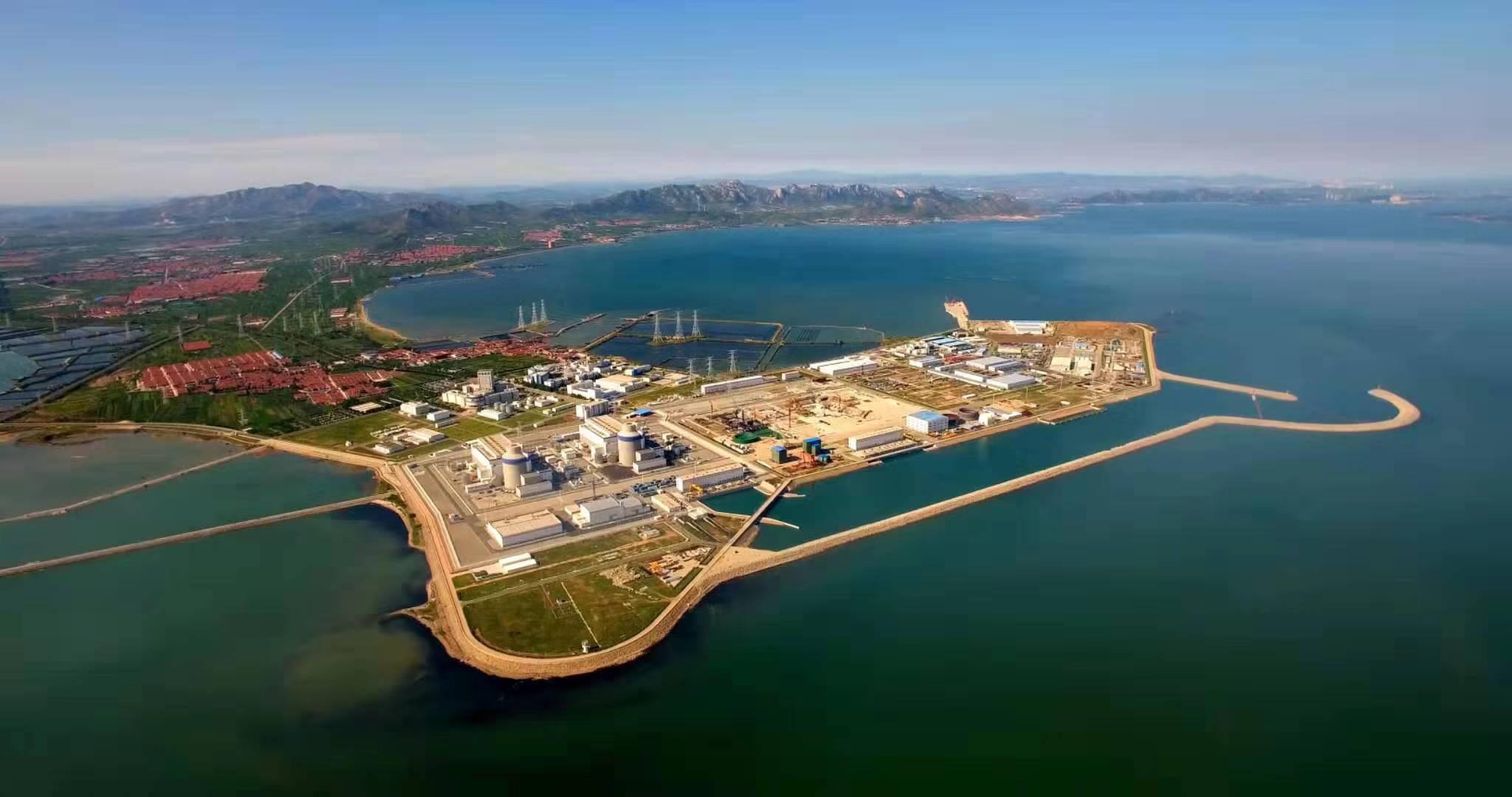 海阳核电站全景。山东核电公司供图