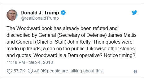 特朗普的推文。