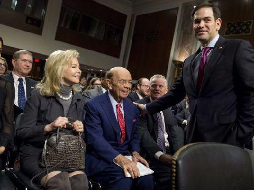 国家治理现代化:美国商务部长罗斯出席参议院听证会