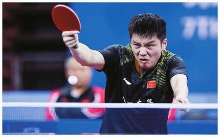 中国队包揽乒乓球项目6金