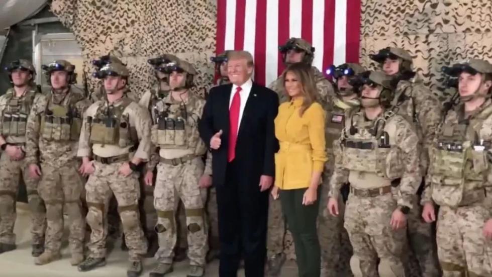 美军机密就这样被特朗普泄露了!