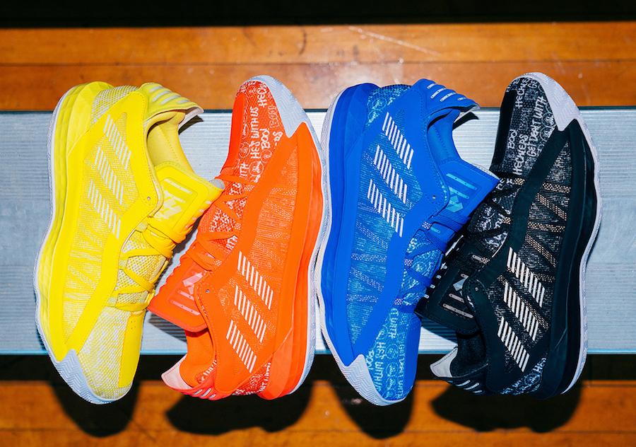 利拉德上脚展示!adidas Dame 6 本月底即将发售