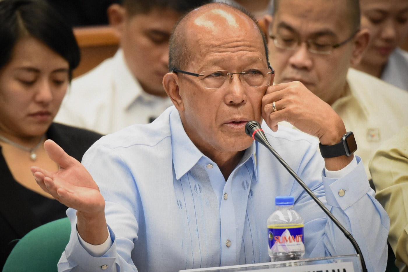 菲律宾国防部长洛伦扎纳  图自菲媒