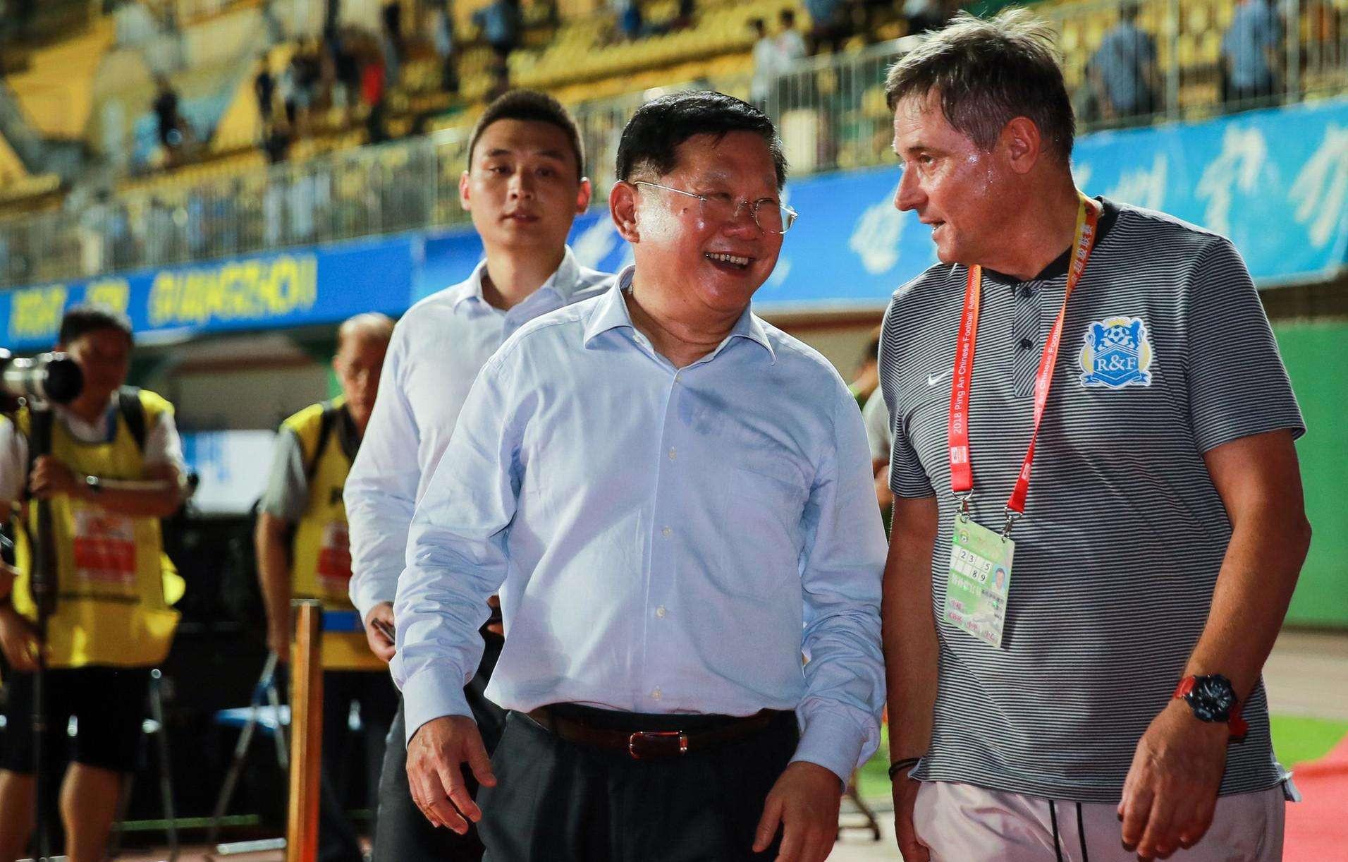 广州富力老板张力将出任中超职业联盟CEO,魏江雷、刘军出任总监