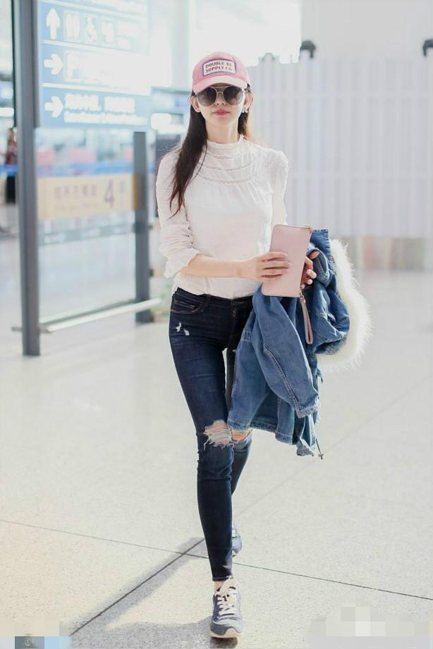 林志玲近照年轻20岁,气质满分,网友:一看就知没怀孕
