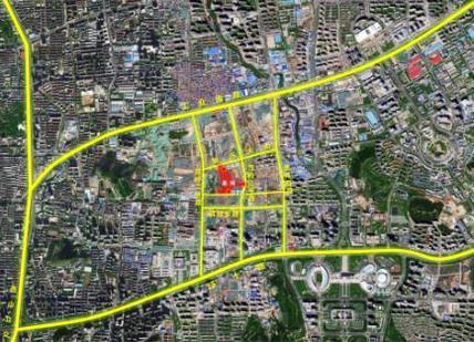 济南国际金融城地下广场这样建!中央和北区规划公示
