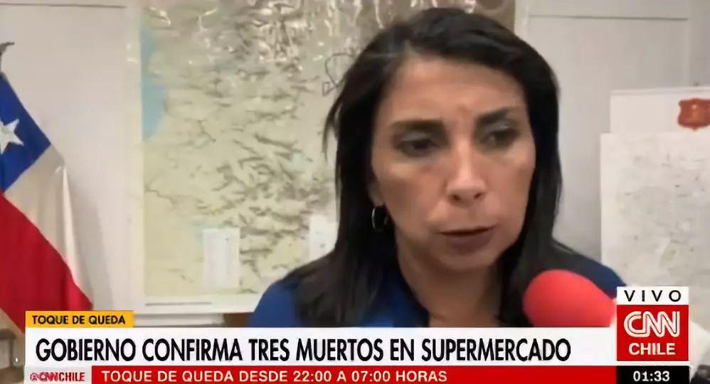 鲁比推深夜承受采访(CNN智利频讲视频截图)