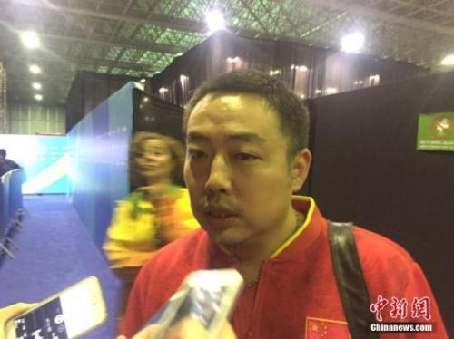资料图:刘国梁。中新网记者 王曦 摄