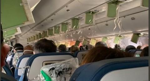 达美航空波音客机10分钟急降万米!机舱失压乘客称似坐过山车