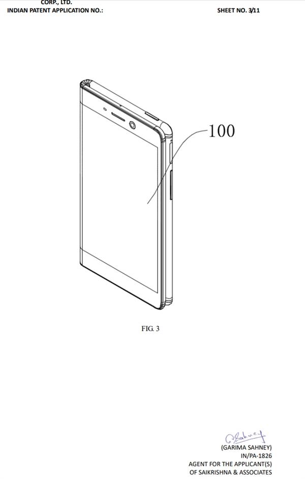 专利图显示其气囊隐藏在手机内部,可以为屏幕的折叠结构提供支撑和