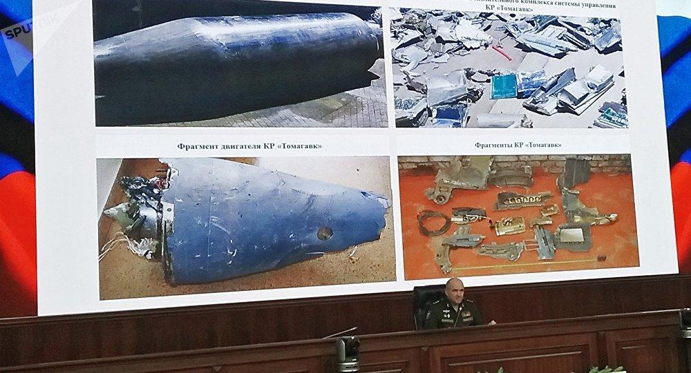 俄展示美空袭叙利亚未爆战斧导弹 美媒要求俄归还放鞭炮简笔画